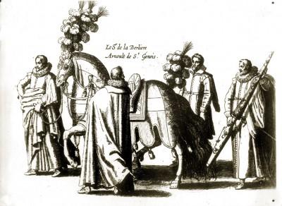 Arnoult de Saint Génois Sire de la Berlière 17e siècle