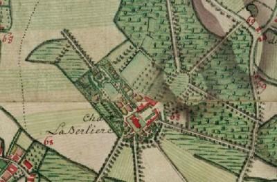 Carte Ferraris 1775